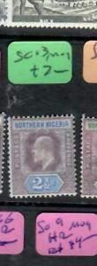 NORTHERN NIGERIA  (P0904B)  KE    2 1/2D  SG 13   MOG