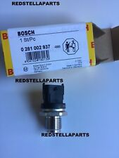 NEW BOSCH FUEL PRESSURE SENSOR FOR TOYOTA YARIS / VERSO 1.4 D-4D 0281002937