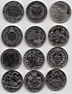 UK Five Pound £5 Coin Brilliant Uncirculated 1990 to 2021 - Choose your Coin