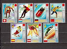 STAMPS Equatorial Guinea Ecuatorial Sport Winter Olympics Games Sapporo 1972