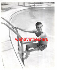 Vintage Louis Jourdan BEEFCAKE QUITE HANDSOME 40s Publicity Portrait