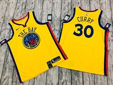 NWT Stephen Curry Golden State Warriors City edition jersey Nike 48
