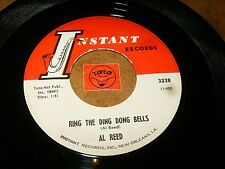 AL REED - RING THE DING DONG BELLS - ONE EYED MONSTER  / LISTEN - RNB HALLOWEEN