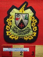 CANADA PATCH Quebec School ~ ARS GRAPHICA CANON COGITATIONIS LOGO 5NB6