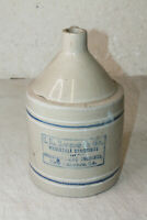 Vintage I.L. Lyons & Co Wholesale Druggists & Chemists New Orleans LA Jug 11''