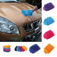 New Ultrafine Fiber Chenille Anthozoan Car Wash Gloves Car Washer Supplies DD