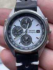 Seiko 7T32-7C60 Panda Dial Chronograph Vintage SDW725P1