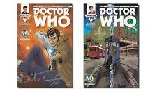 Doctor Who Comics - Signed by Matt Smith & David Tennant (Set of 2)