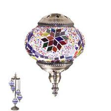 TURKISH MOSAIC LAMP Glass Table Lamp LIGHT Swan 5pcs ball Mosaic