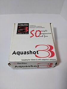 Vintage IKELITE AQUASHOT 3 for 35MM & APS Snapshot Cameras. New in Box