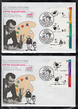 A 18 ) Germany FDC 2003  Children,Cartoon,Comic, Father-and-son stories of 2 FDC