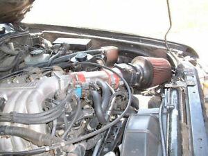 BCP RED 1999 2000 2001 2002 2003 2004 Xterra Frontier 3.3L V6 Ram Air Intake