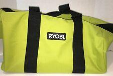 Ryobi Genuine Heavy Duty Large Contractor Zip Tool Bag NEW