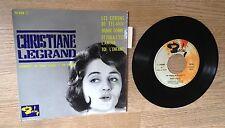 EP Christiane Legrand Les citrons de Tel-Aviv Donne donne pop jazz 1961 EXC