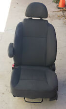 2007 2008 AVEO Driver Front Seat Bucket Opt AR7 With Air Bag DARK GRAY Cloth OEM
