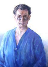 Ritratto di un signore in Occhiali da sole Henri Almeida venezuelano W / col ritardo 20thC