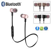 Wireless Magnet Bluetooth Stereo Earphone Headphone Headset for iPhone Samsung