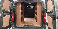 Citroen Dispatch MWB (New 2016>) Triple Unit Van Racking, Plywood Shelving