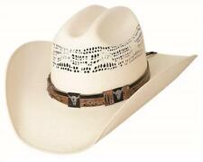 OUT OF THE CHUTE 20X Bangora Straw Rodeo Western Cowboy Hat Bullhide Montecarlo