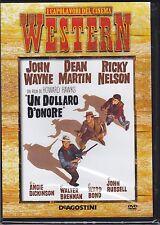Dvd **UN DOLLARO D'ONORE** con John Wayne Dean Martin nuovo 2059