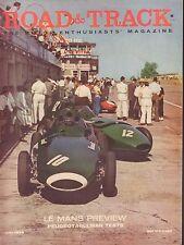 Road & Track July 1958 Le Mans Preview, Peugeot, Hillman 052417nonDBE