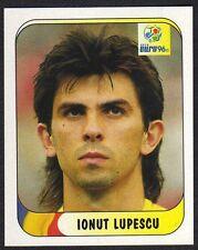 "EURO 96 STICKER - ROMANIA - ""IONUT LUPESCU"" No 139 BY MERLIN"
