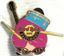 Hard Rock Cafe BALTIMORE 2013 HUN BUN Hairdo GIRLS HEAD with DRUM PIN HRC #72284