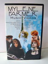 CASSETTE VHS MYLENE FARMER MUSIC VIDEOS VOL. I  12 TITRES, EN TRES BON ETAT