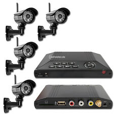 Kameraset Funk Videoüberwachung HS 401 Überwachungssystem Funküberwachung