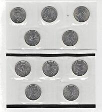 2002 P & D State Quarter Set In US Mint Cello BU 10 CN-Clad Coin Set