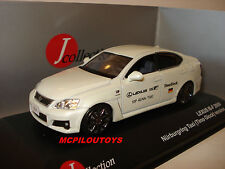 J-COLLECTION JC095  LEXUS IS-F NURBURGRING TAXI TIMO GLOCK 2009 au 1/43°