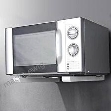 Microwelle Halter Mikrowellenhalterung Küchen Microwave Halterung Regal Weiß DE