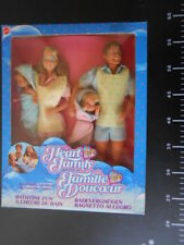 HEART FAMILY BAGNETTO ALLEGRO Set deluxe Famiglia Cuore Mattel Vintage BARBIE