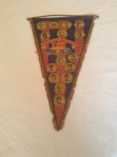 BARCELONA FC OFFICIAL CLUB & ORIGINAL X-LARGE 1970'S PENNANT GOOD/FAIR CONDITION