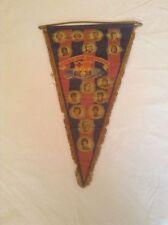 BARCELONA FC OFFICIAL CLUB & ORIGINAL X-LARGE 1970'S PENNANT GOOD/FAIR CONDITION