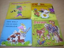 4 alte Pixi Büchlein Nr. 48,78,92,113