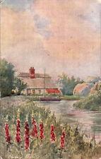PARSONS NORMAN :The Foxglove-Horsey Staithe-JARROLDS 'Wild Flower'