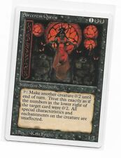 Magic The Gathering ~ 1x Sorceress Queen ~ REVISED ~ LP