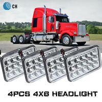 4PC Freightliner Classic Projector led headlight sealed beam replace hologen HID