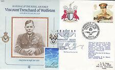 error Rare Reflown Cdr1a MRAF Viscount  Trenchard, added Netherlands Stamp.