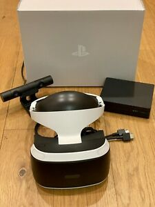 Sony PlayStation VR PSVR Headset V2 Boxed including Camera and Cables