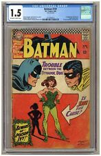 Batman 181 (CGC 1.5) 1st appearance of Poison Ivy; Moldoff; Infantino; 1966 B547
