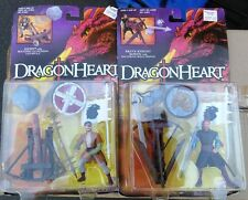 Dragon Heart Hewe and Bowen Action Figure Lot of 2