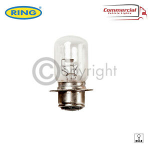 1X RING P36D 12V 50/40W BRITISH PRE FOCUS HEADLIGHT BULB - R414