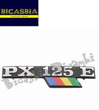 1242 - PLACA CAPUCHA ATAÚDES MOTOR PX125E VESPA 125 PX ARCOBALENO