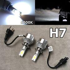 LOW BEAMS 36W X2 3800LM LED H7 Bulbs HIGH POWER COB 6000K White W1 For E