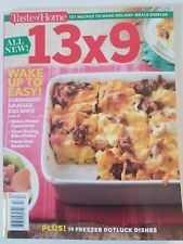 TASTE OF HOME 13 x 9 121 RECIPES TO MAKE HOLIDAY MEALS SIMPLE WINTER 2017 NEW