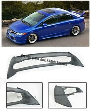 For 06-11 Honda Civic Sedan Mugen RR ABS Plastic Rear Trunk Wing Spoiler FD2 FA2