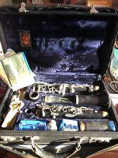 RARE! Leblanc Paris Original Vintage Clarinet, Leather Case, Glass Mouthpiece!