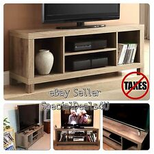 TV Stand For Flat Screens Rustic Credenza Storage Shelves Media Center Home New